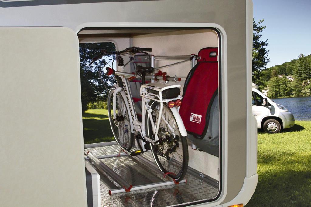 Cómo Transportar La Bicicleta O La Moto En Una Autocaravana Comercial Caravaning