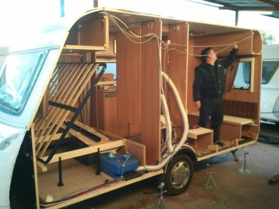 Taller de Caravanas y Autocaravanas en Comercial Caravaning