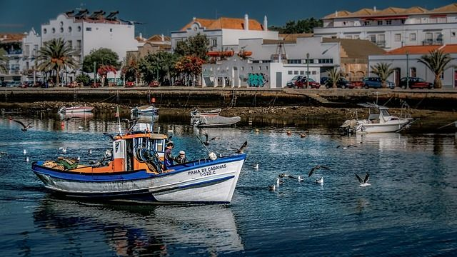 Tavira, Algarve (Portugal).